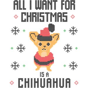 all i want christmas is a cihuahua Thumbnail