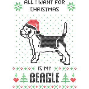 all i want christmas my beagle Thumbnail