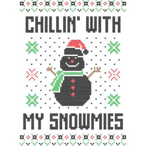 Chillin  with my snowmies Thumbnail